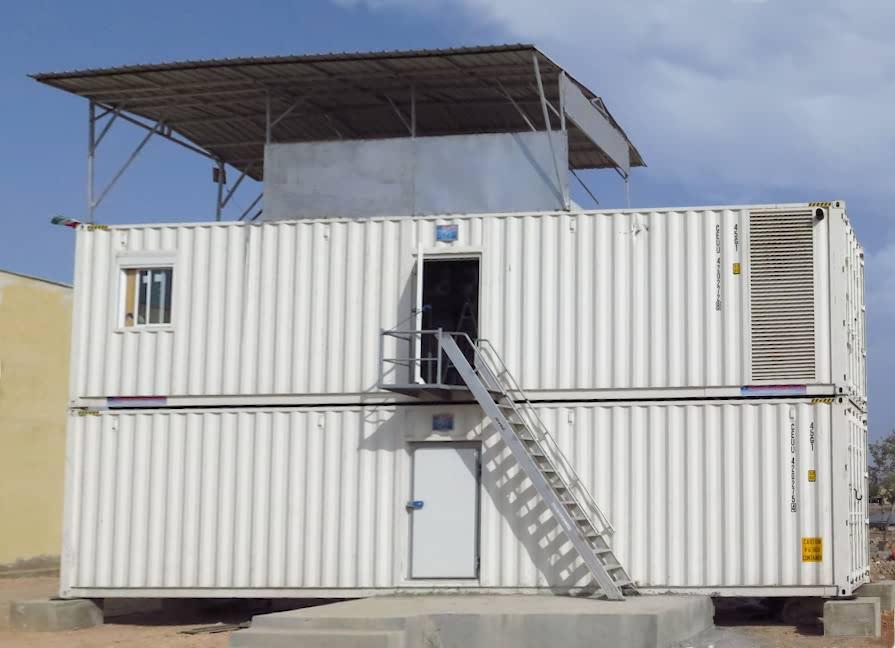 Fabrica containerizada congelacion