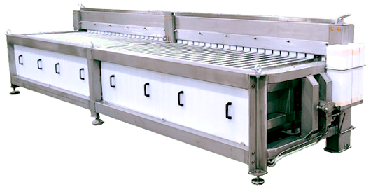 Tucal plate freezer vertical twin